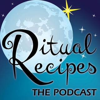 Logo for Ritual Recipes, a podcast that celebrates the cycles of nature and the milestones of life, one ritual at a time